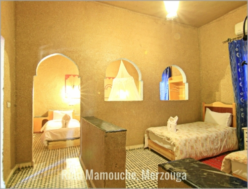 Family Rooms Riad Mamouche Merzouga