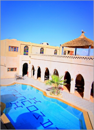 Swimming Pool Hotel Merzouga Riad Mamouche